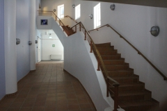 Stairway to the seminar room