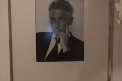 Photo, Professor Bengt Andersson, Library Nana Svartz väg 2, level 2, May 2018