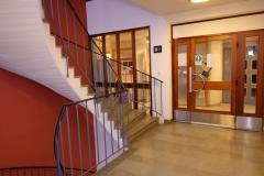 Stair hall, Passageway, Pharmacology building, Nanna Svartz väg 2, level 2, May 2018