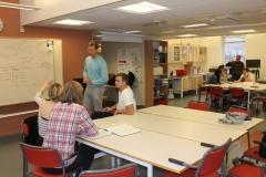 Student lab.  von Eulers väg 4, level 1, May 2018