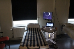 Student lab., Physiology, equipment for ultrasound heart, von Eulers väg 4, May 2018