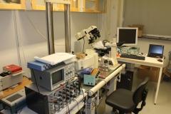 Håkan Westerblad's Confocal lab., von Eulers väg 8, level 2, May 2018