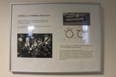 Memory board – Nobelprize 1961 to Georg von Békésy, von Eulers väg 8, corridor, level 2, May 2018