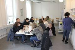Lunchroom, Administration, von Eulers väg, 4, level 2, May 2018