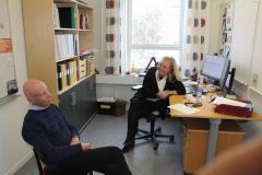 Eva Gippert, Head of Administration, von Eulers väg 4, level 2, May 2018