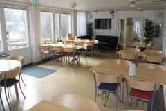 Lunchroom, Pharmacology building, markplan, Nanna Svartz väg 2