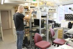 Lars Larsson lab., Nanna Svartz väg 9 väg 2, May 2018, Anders Backeus