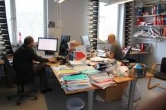 Eddie Weitzberg och Jon Lundberg, Nanna Svartz väg 2, level 3, May 2018