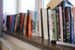 Book exchange in the lunchroom