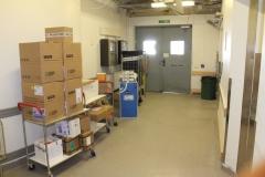 Lastkajan - the goods bay at MTC