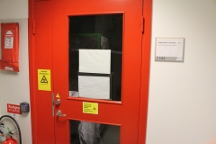 The isotope room on the second floor at MTC