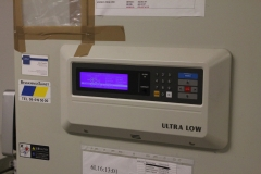 One of the thermostats in the MTC Freezer room