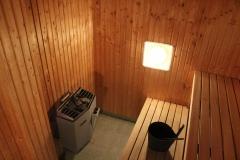 The sauna at MTC