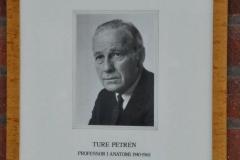 Ture Petrén, Professor in Anatomy 1940-1968