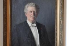 Gustaf Retzius portrait at Neuroscience